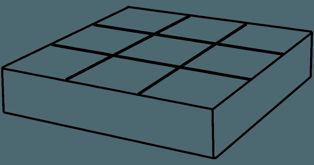 Beispiel für Square Foot Gardening